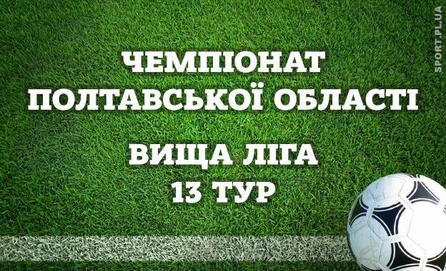 Чемпіонат Полтавської області (вища ліга): «Колос» і «Олімпія» поділили очки