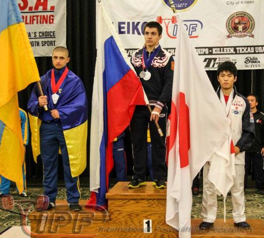 Віталій Касьяненко - другий на чемпіонаті світу з пауерліфтингу (юнаки)