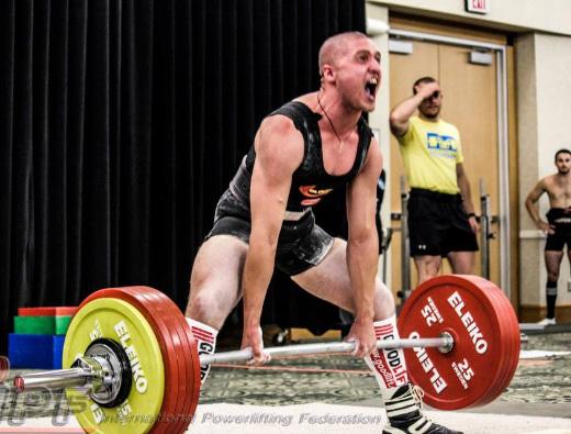 Віталій Касьяненко, тяга 262,5 кг